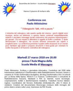 27 Marzo 2018 Massagno Paolo Attivissimo